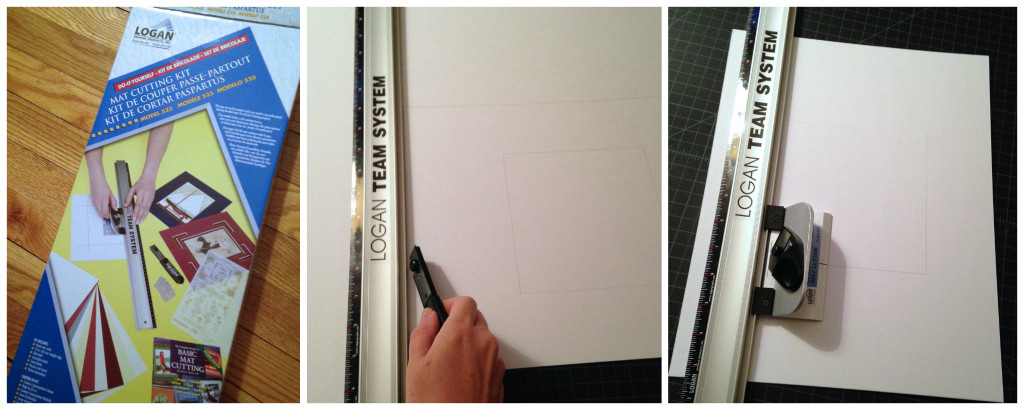Cut your own picture mat -- Plaster & Disaster