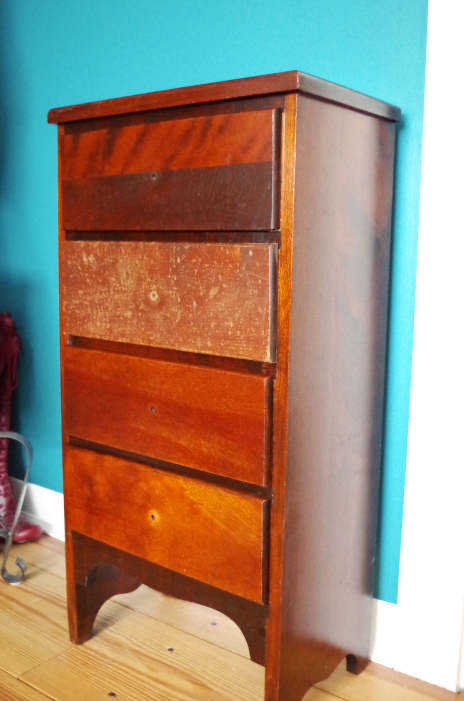 Furniture Makeover - Finish with Wood Polish 3 - Plaster & Disaster