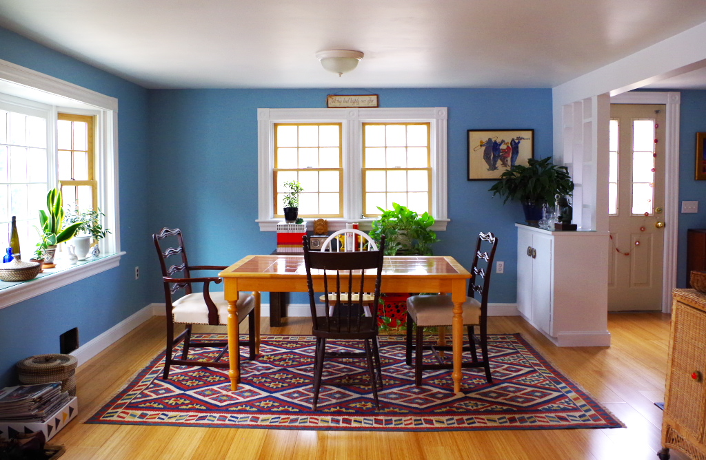 Dining Room From Kitchen - Plaster & Disaster