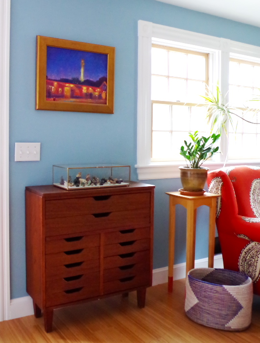 Small Chest of Drawers and Provincetown Painting - Plaster & Disaster
