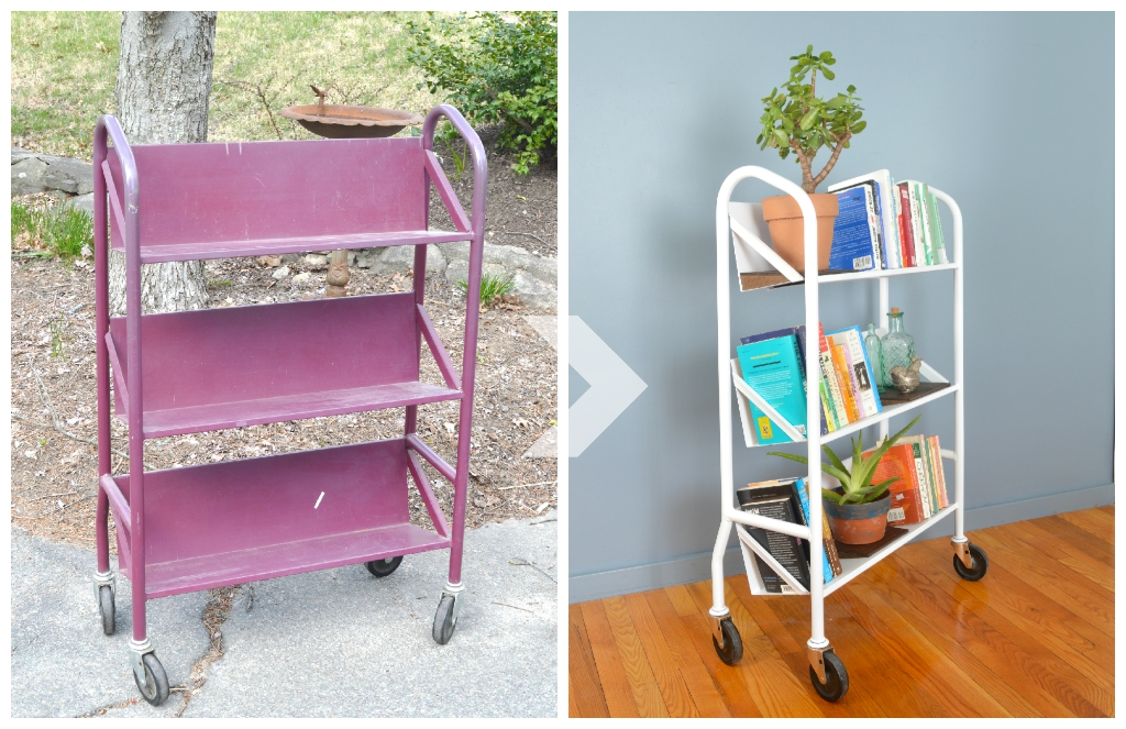 Transforming a library cart -- Plaster & Disaster