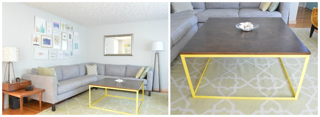 diy metal modern coffee table plaster disaster