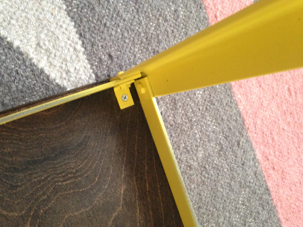 Building a sturdy metal table base -- Plaster & Disaster