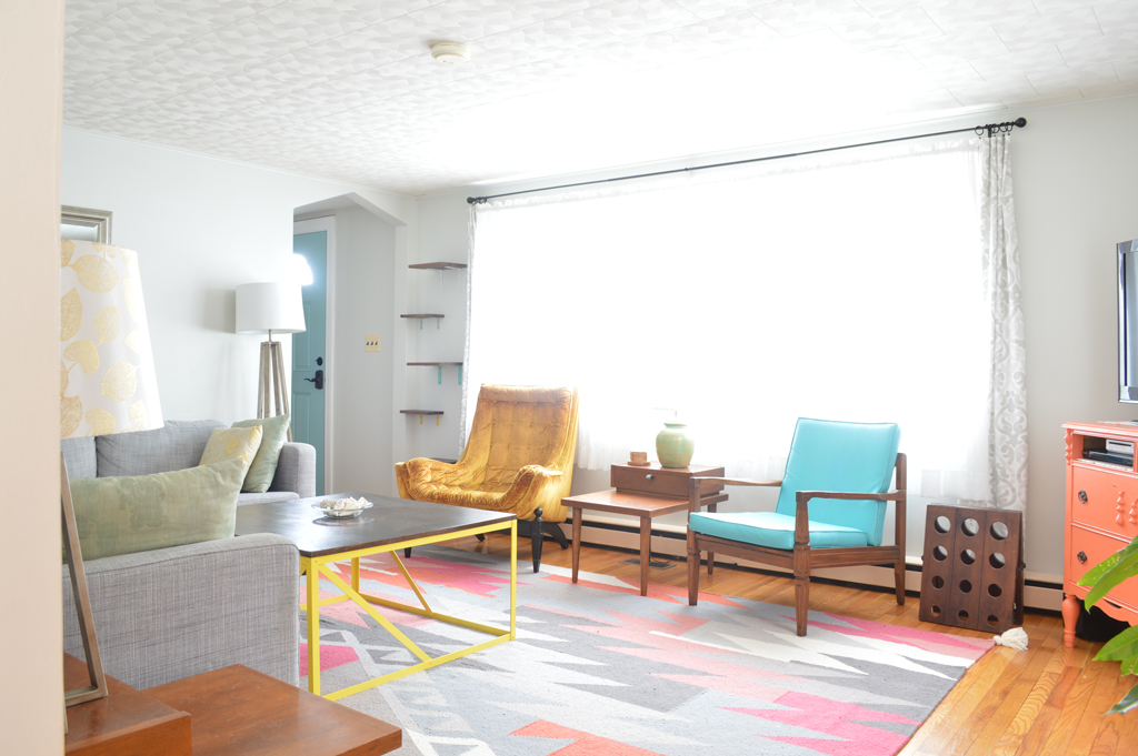 Colorful Living Room -- Plaster & Disaster