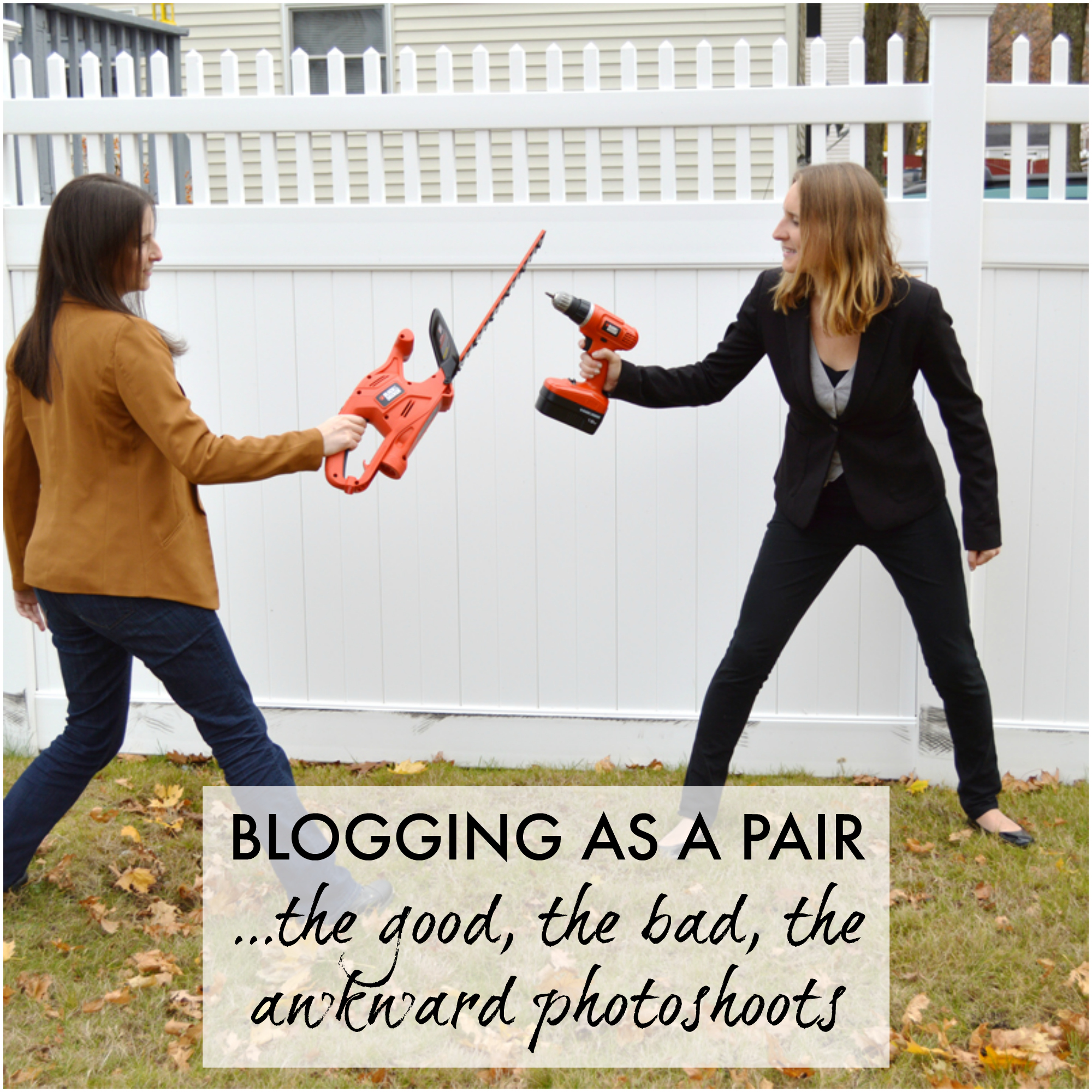 Blogging as a pair -- Plaster & Disaster