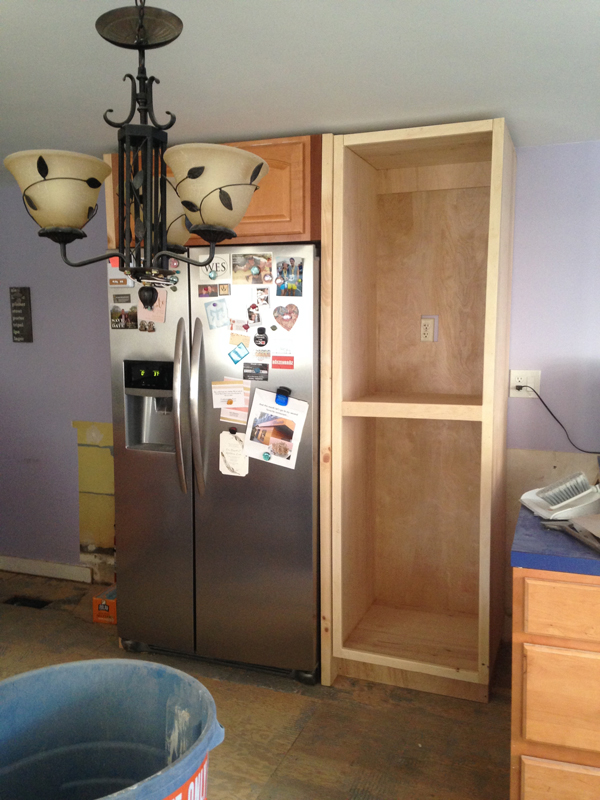 Kitchen cabinets -- Plaster & Disaster