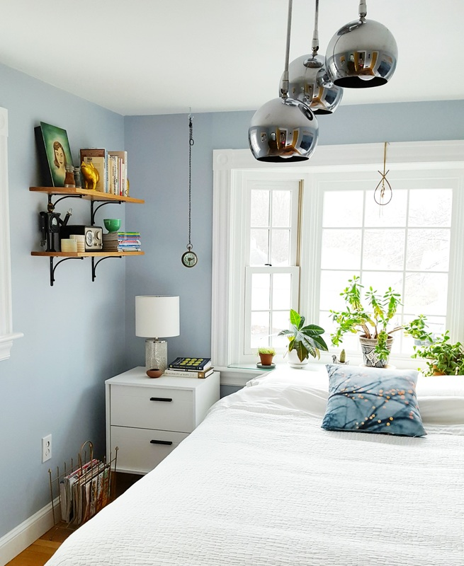 Light and Airy Bedroom Makeover - Plaster & Disaster