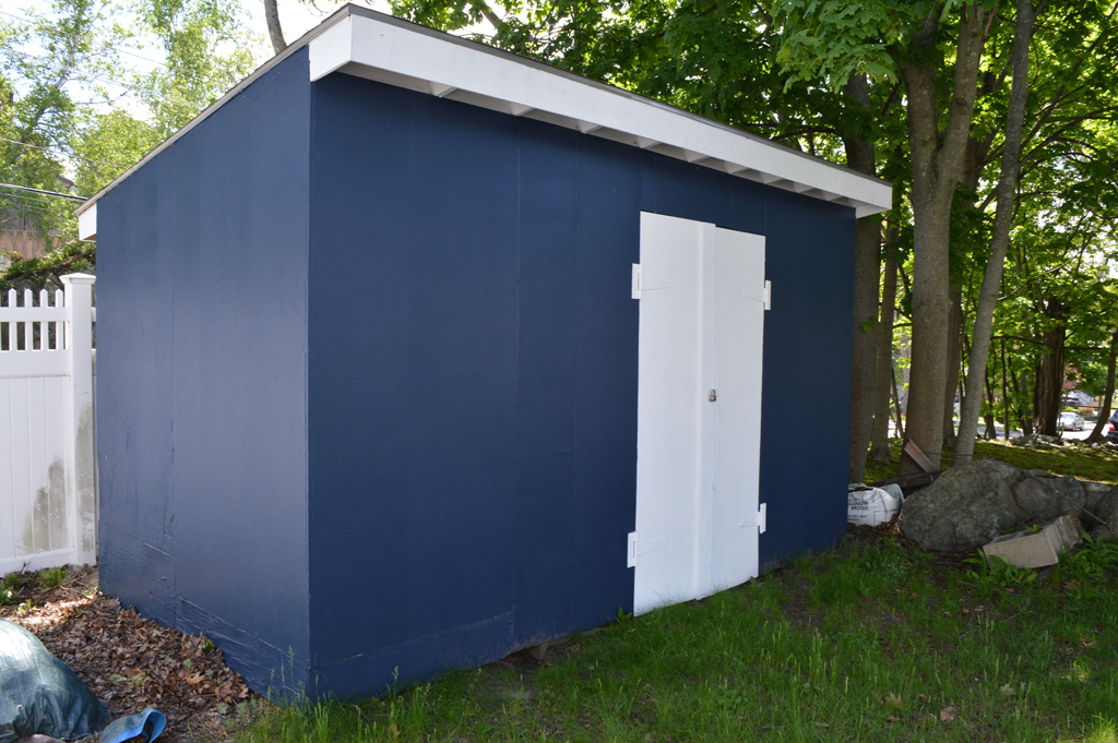 Painting shed -- Plaster & Disaster
